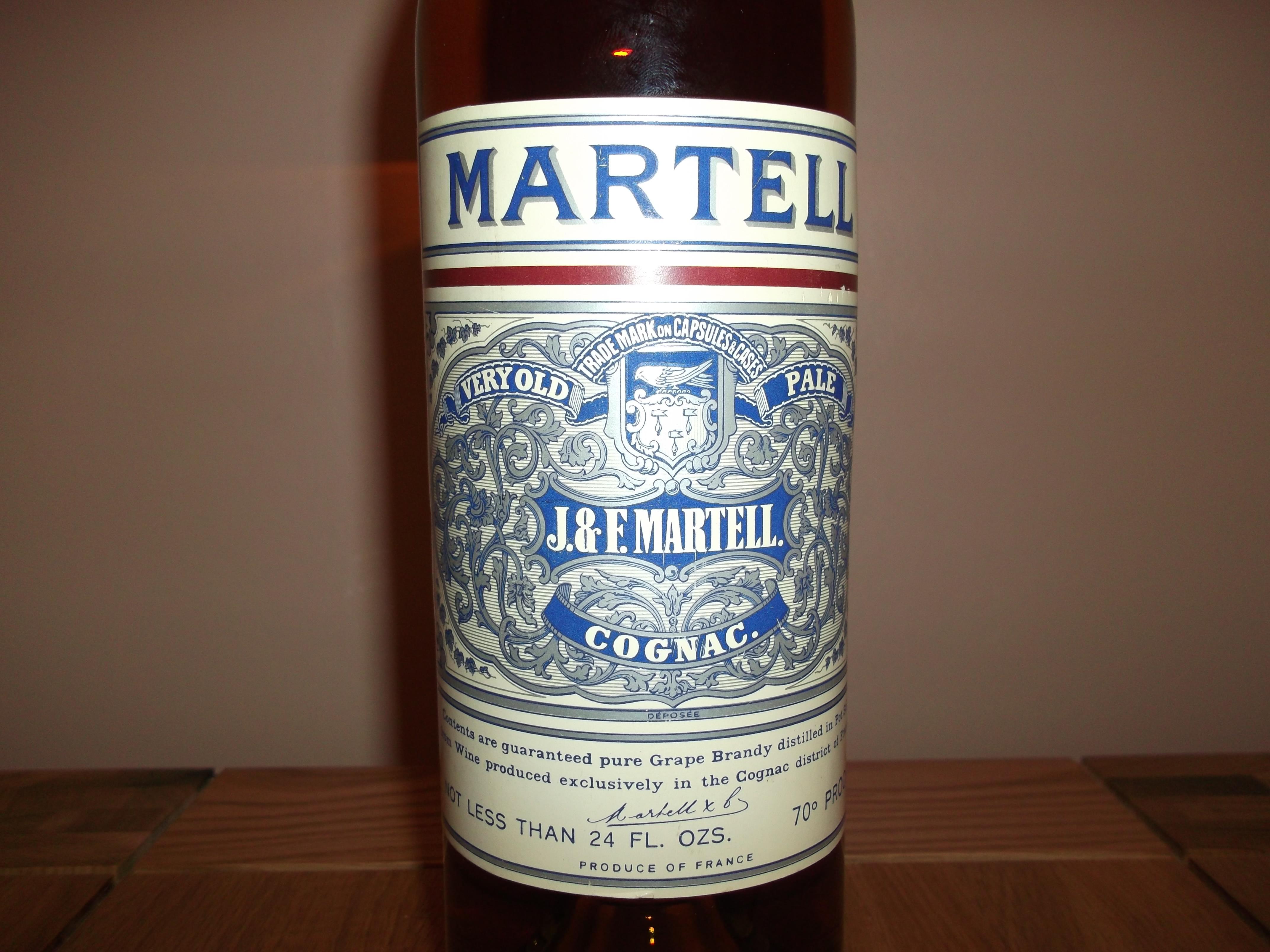 Martell Bottle J&F