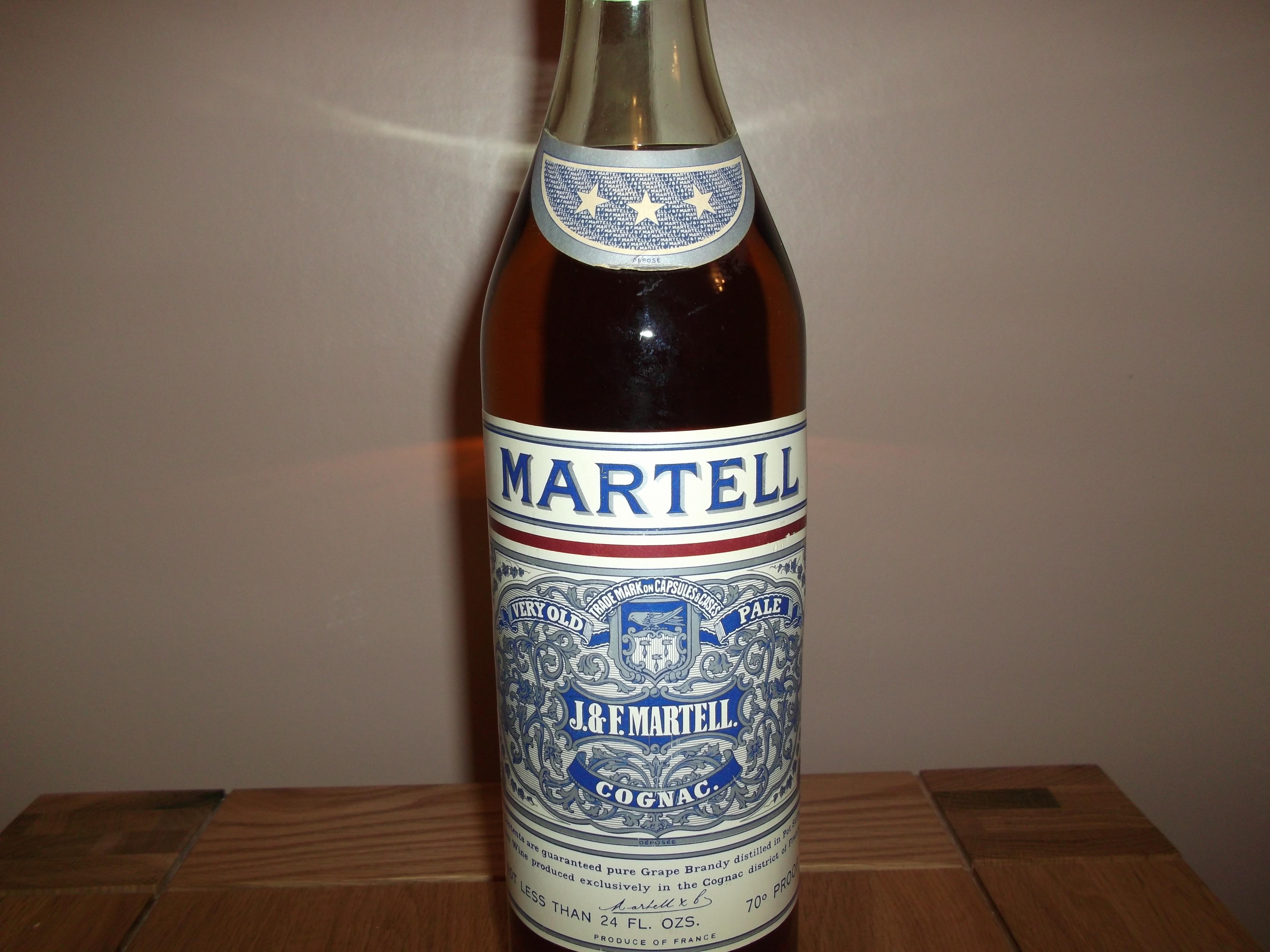 Martell Cognac Bottle J&F