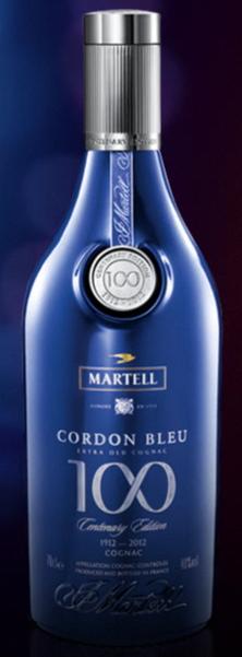 马爹利蓝带100周年纪念限量版