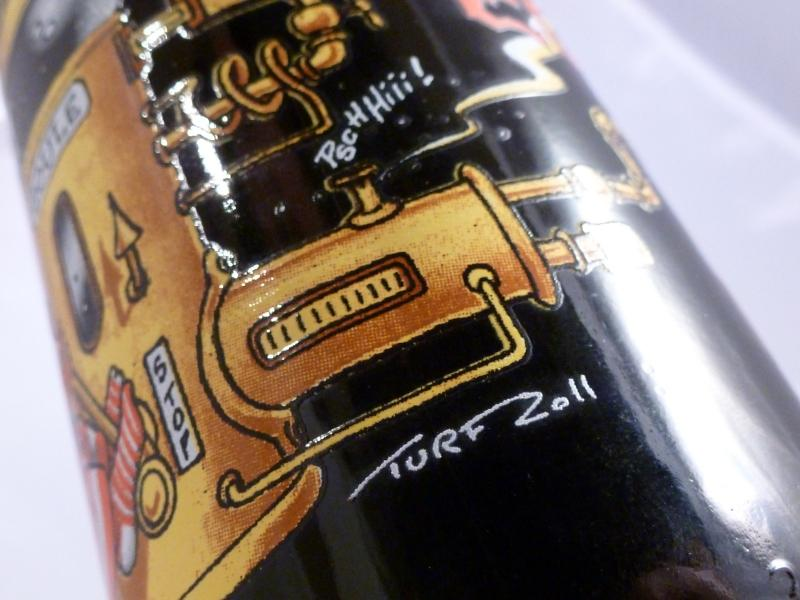 La Goule Organic Cognac Beer by Guy Pinard