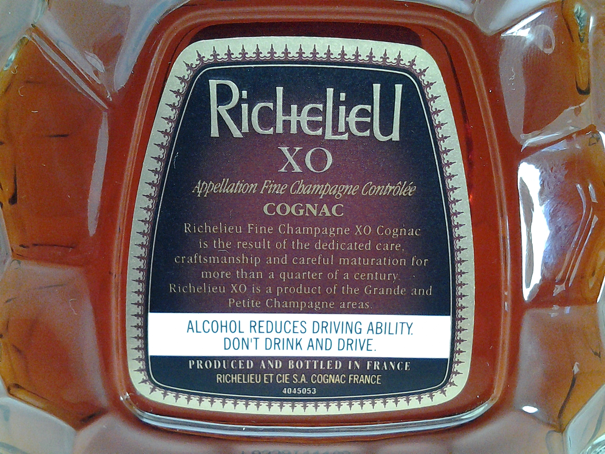 Richelieu XO Cognac Fine Champagne: Sister Brand of Bisquit
