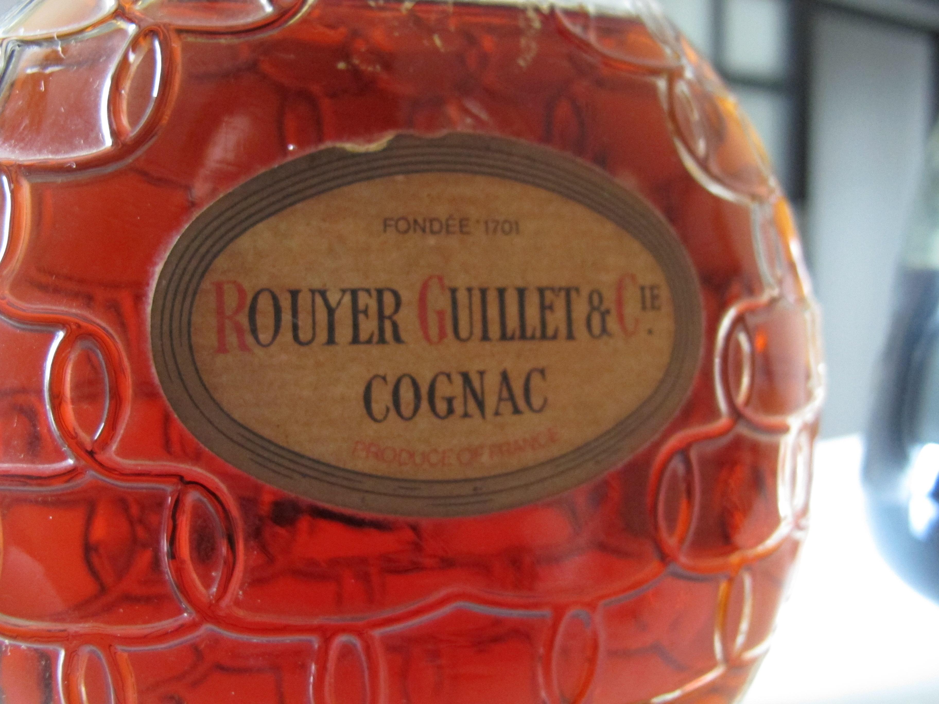 Reader owns a Rouyer Guillet & Cie Cognac Bottle