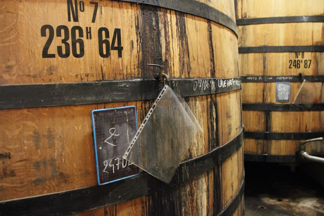 Cognac Barrel