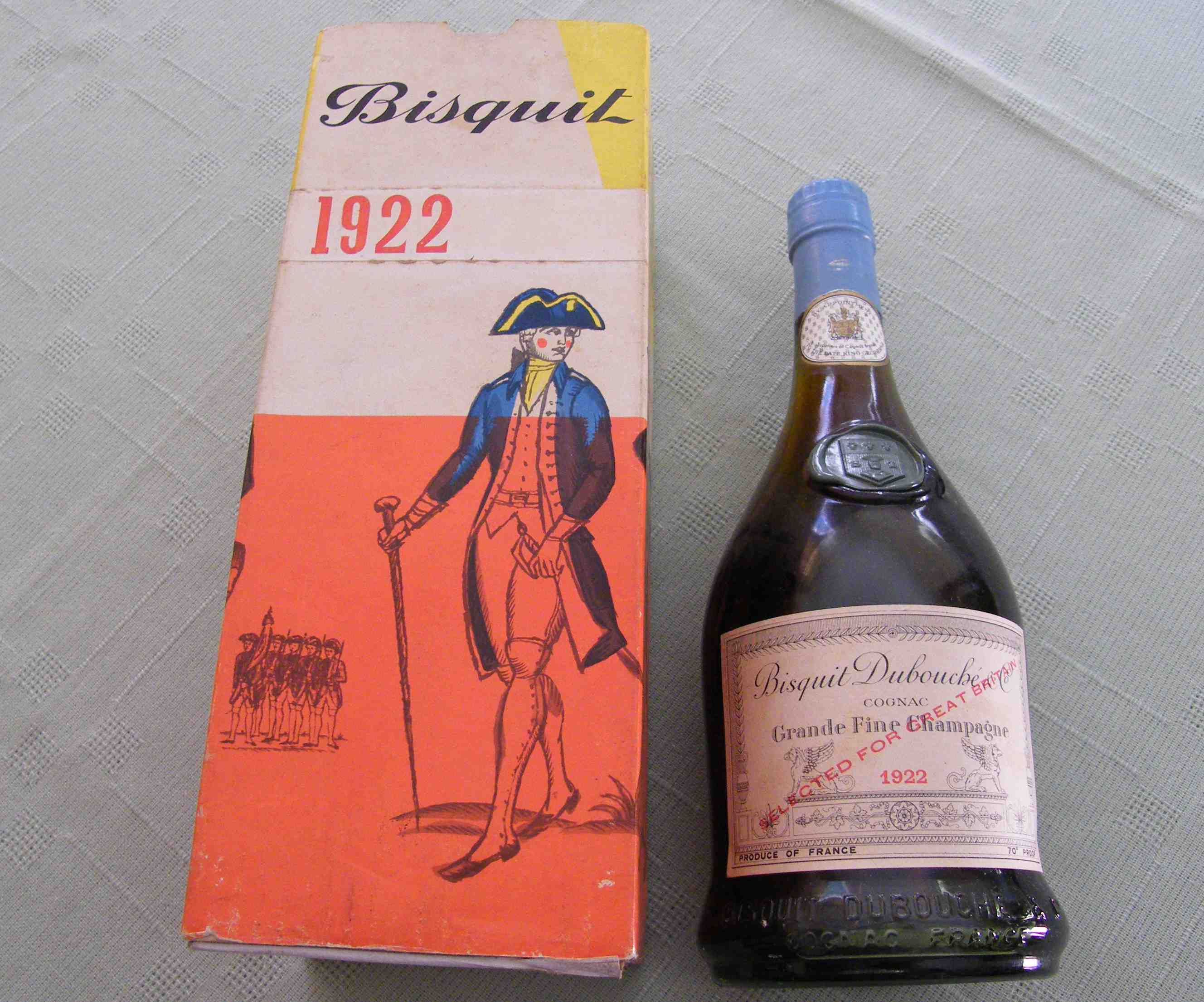 Bisquit Debouché Cognac 1922