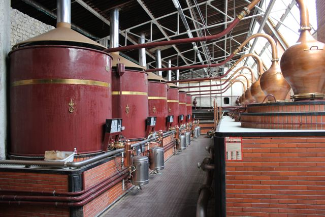 Pot stills park: 40 Alambics!