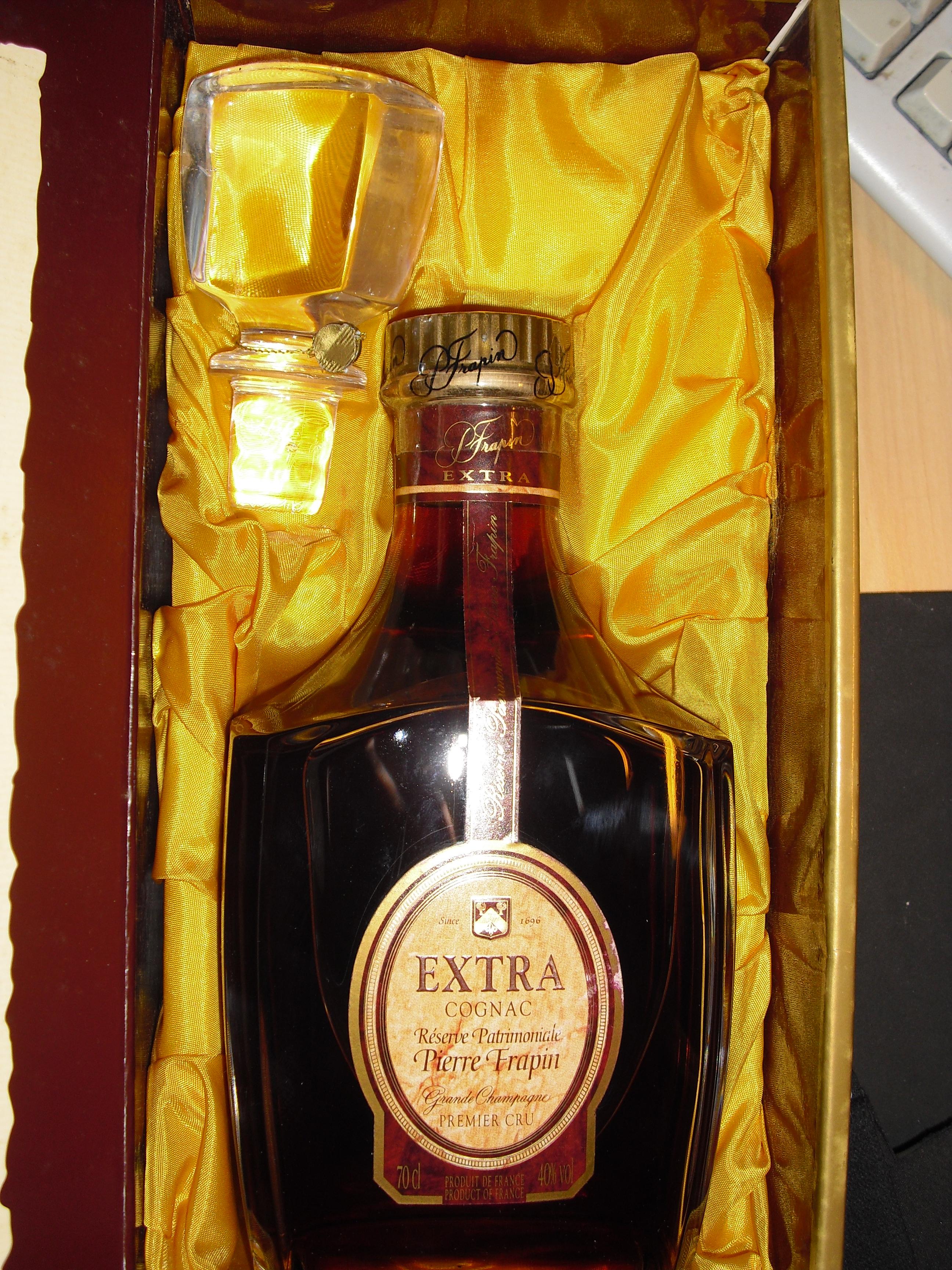 Extra Cognac Pierre Frapin Réserve Patrimoniale Grande Champagne Premier Cru