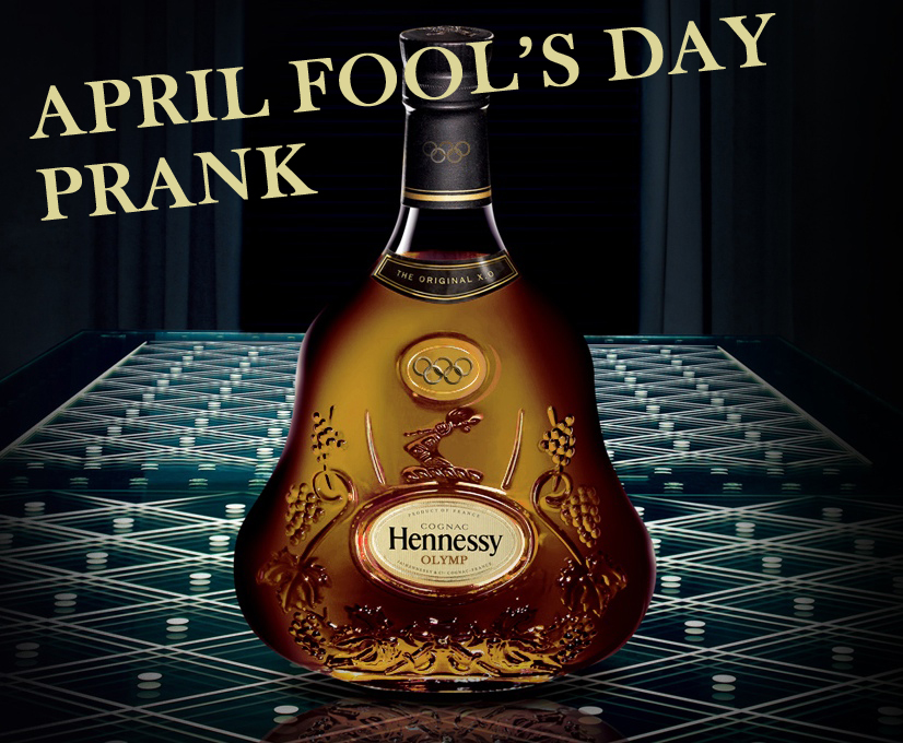 April Fool's Day Prank ! Hennessy Olymp Cognac Special Edition Launch for Olympic Games London 2012