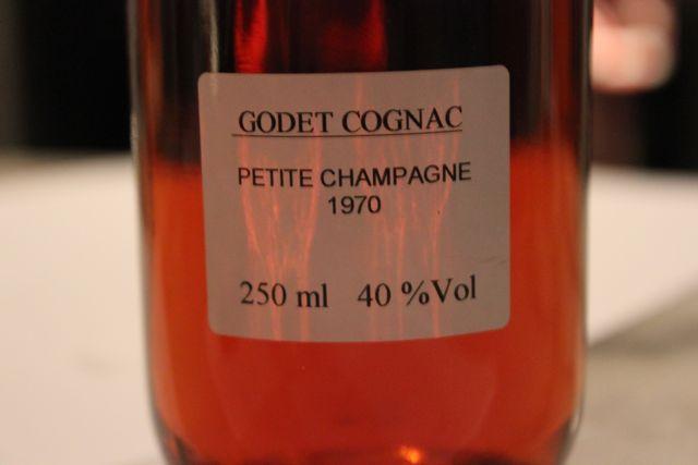 Godet Cognac 1970 Millesime