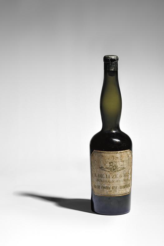 De Luze rare cognac bottle