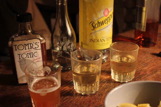 Tonic Tasting with Cognac: Schweppes, Q and Tomr's