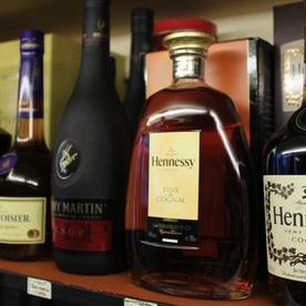 cognac sales