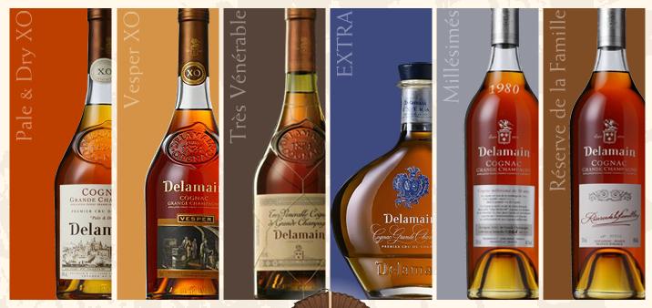 Cognac Range Delamain