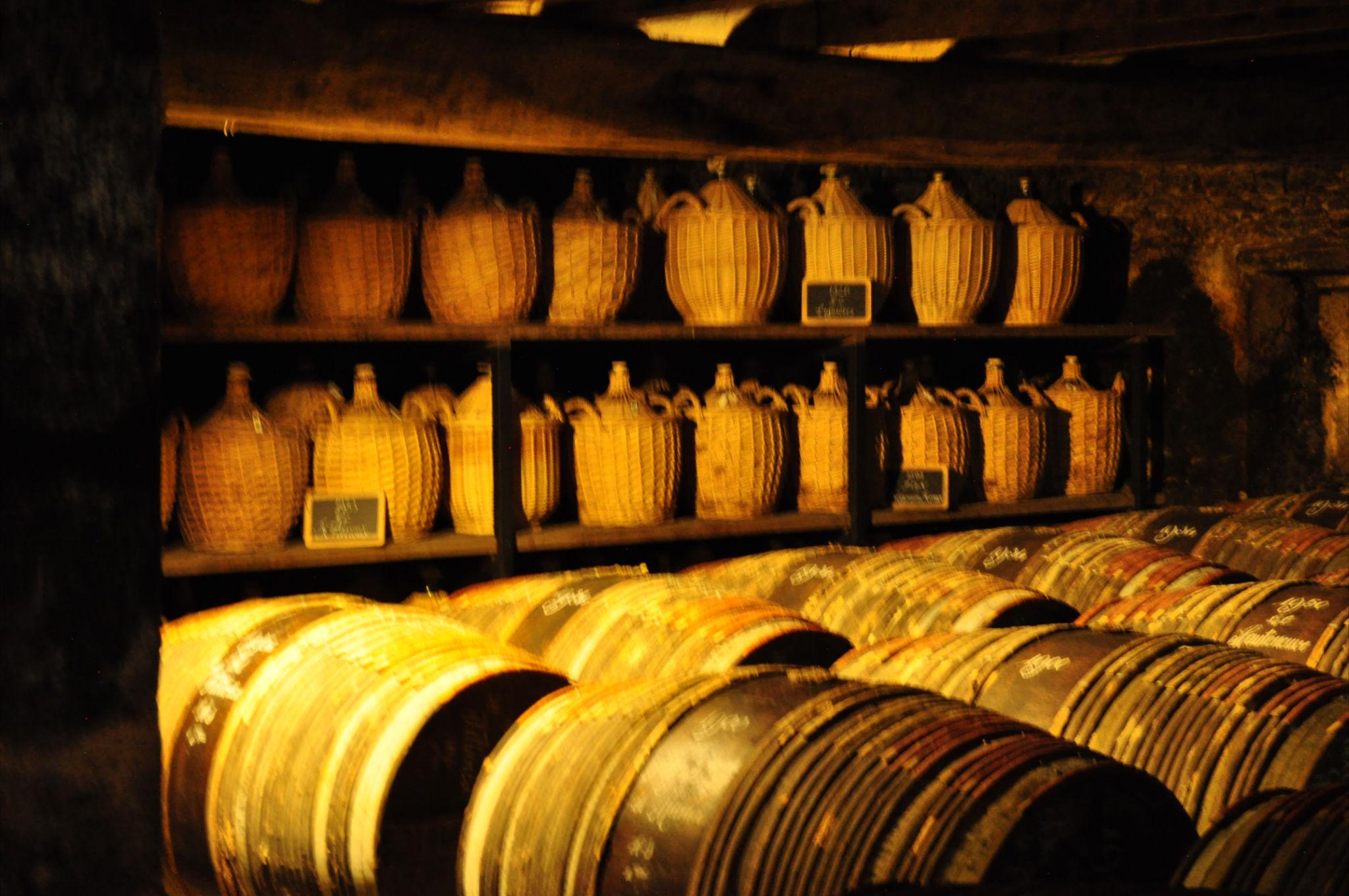 Hennessy cellar & paradis