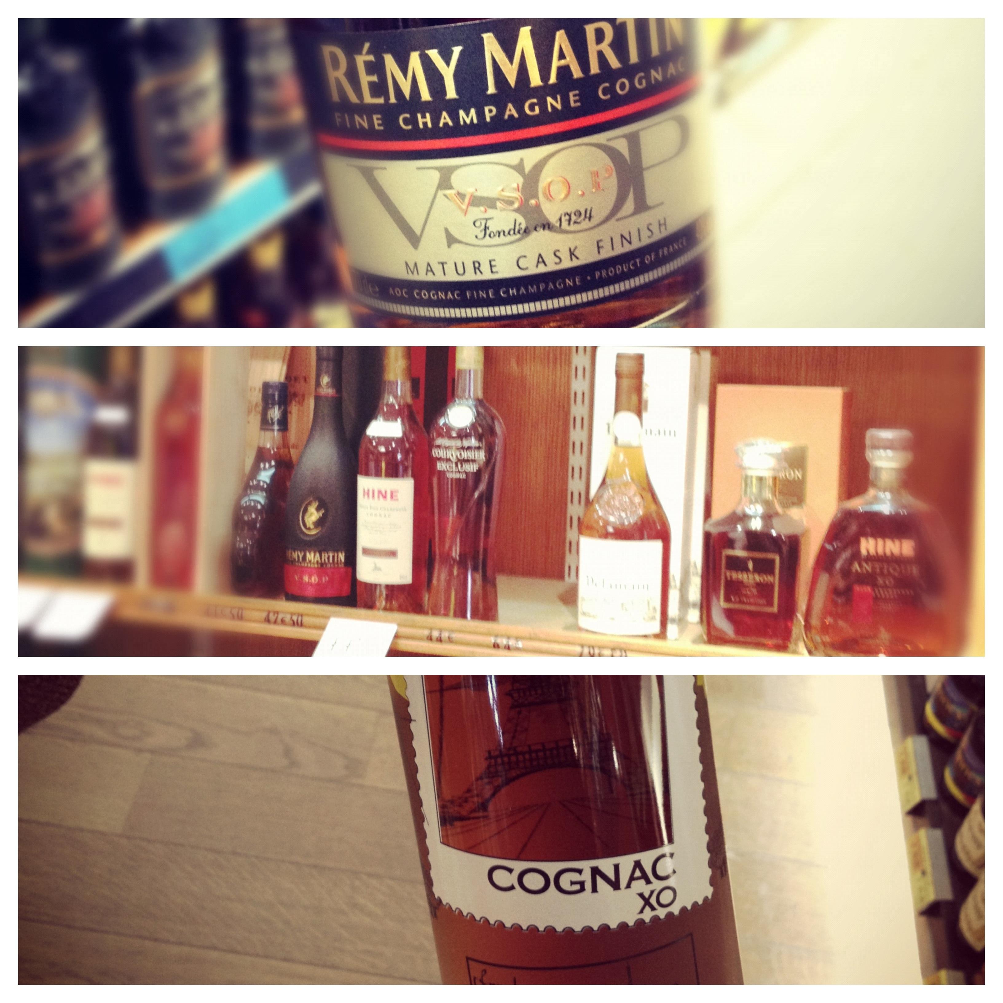 Cognac labels