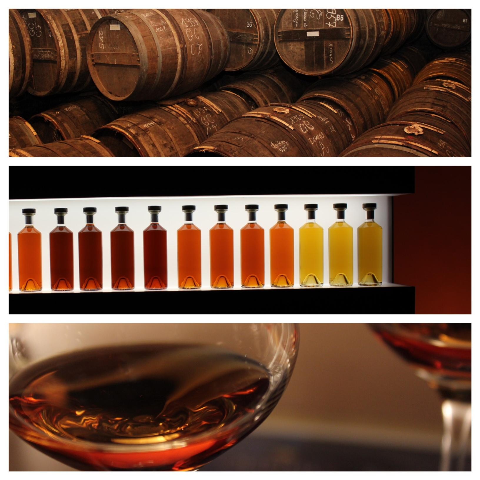 Blending cognac