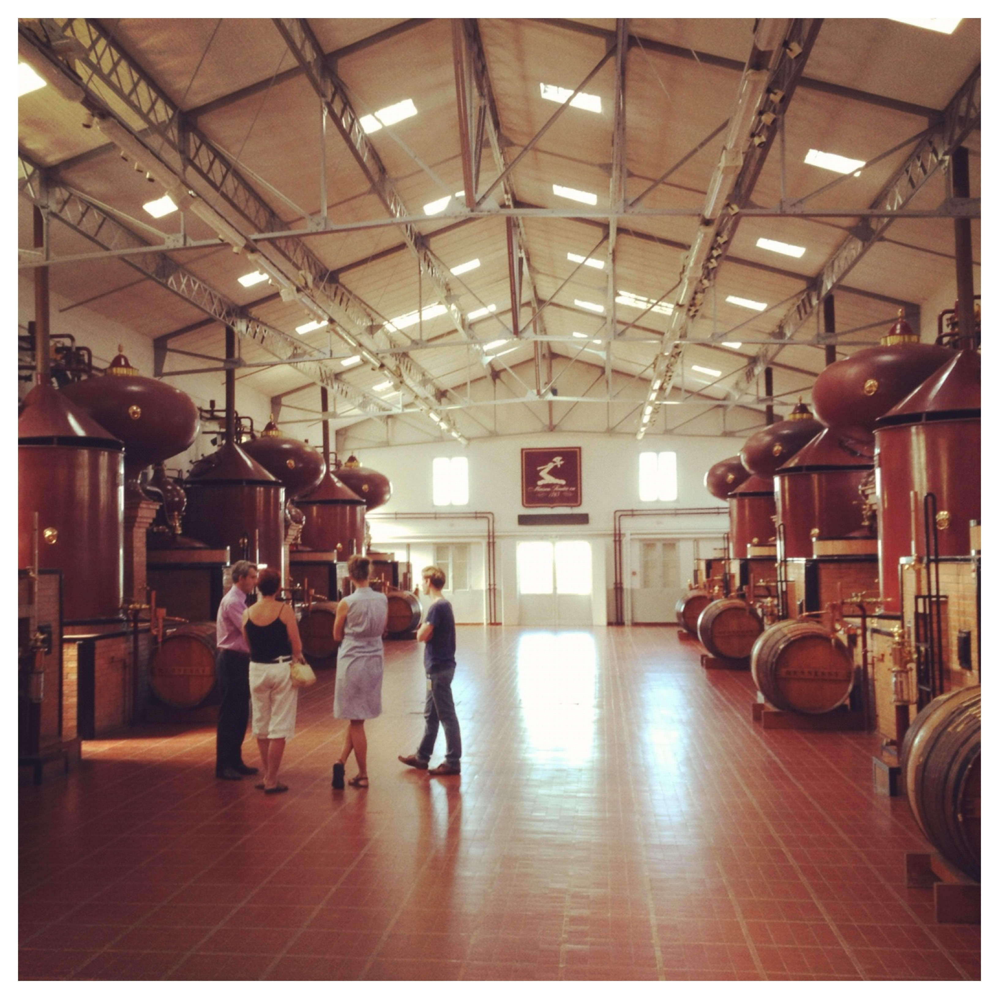 Cognac-Expert's Visit to Hennessy Cognac