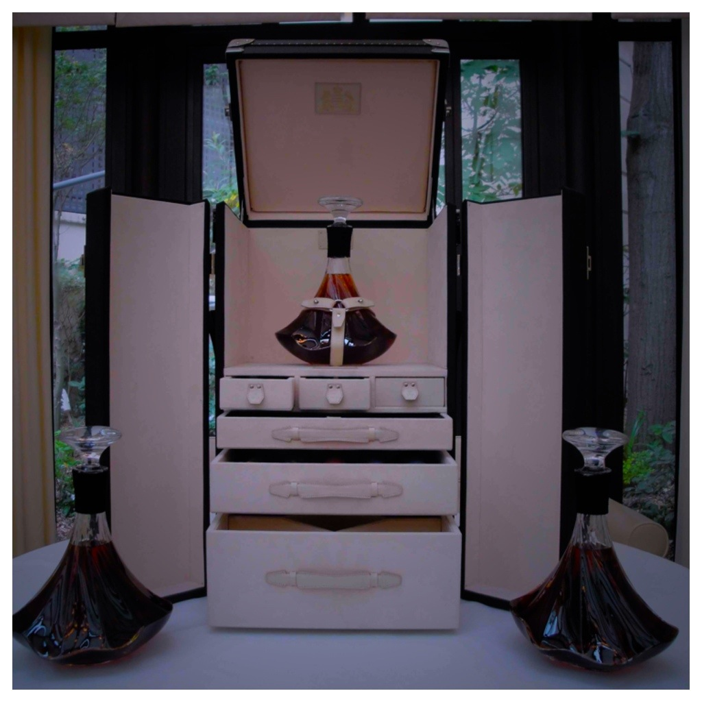 Case Closed: A Louis Vuitton Trunk for Hennessy Paradis Impérial