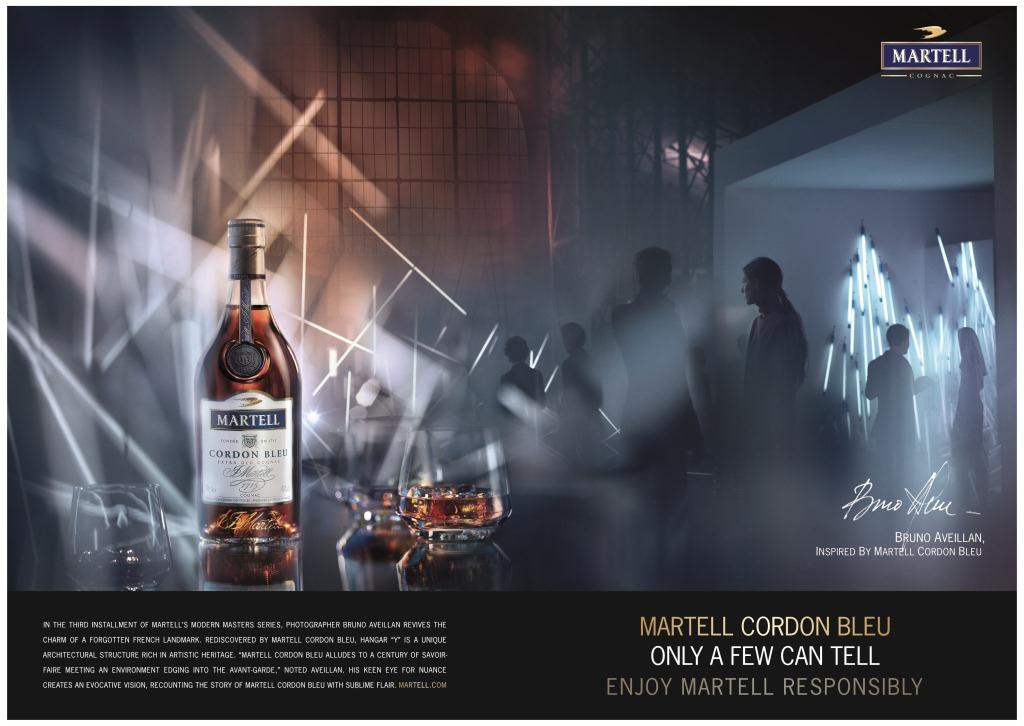 Bruno Aveillan for Cognac Martell