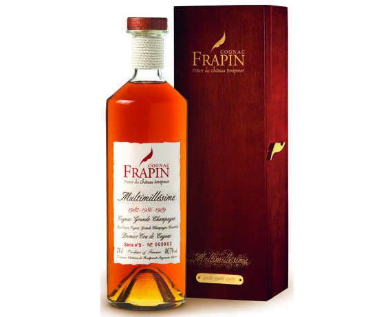 弗拉潘干邑混合年份5号(Cognac Frapin Multimillésime No 5)