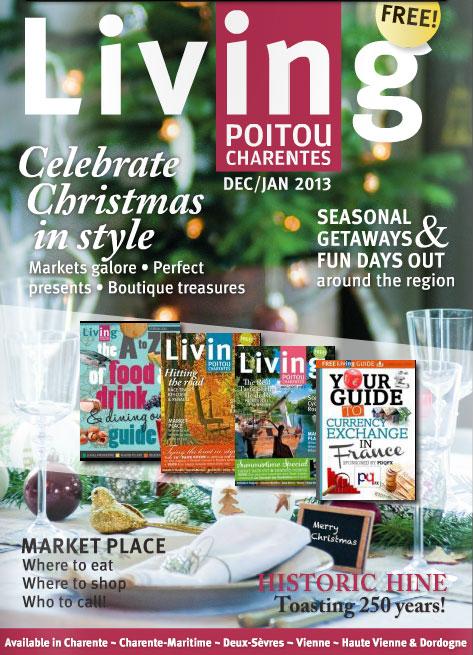 Living Poitou Charentes Magazine: Your Key to Cognac & The Area
