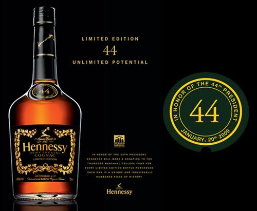 Obama Cognac by Hennessy
