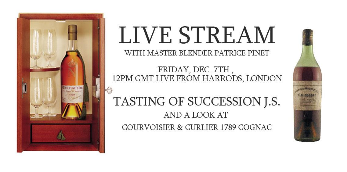 Courvoisier Livestream