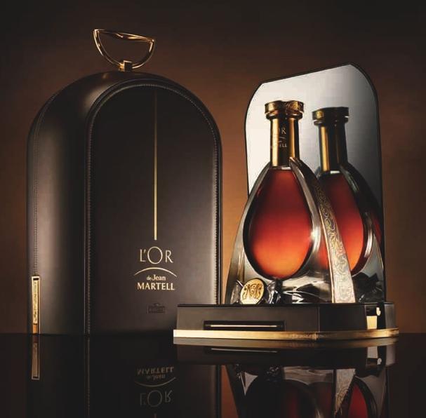 尚•马爹利至尊(L'Or de Jean Martell)干邑酒匣特别版----由法国设计师Eric Gizard倾力打造