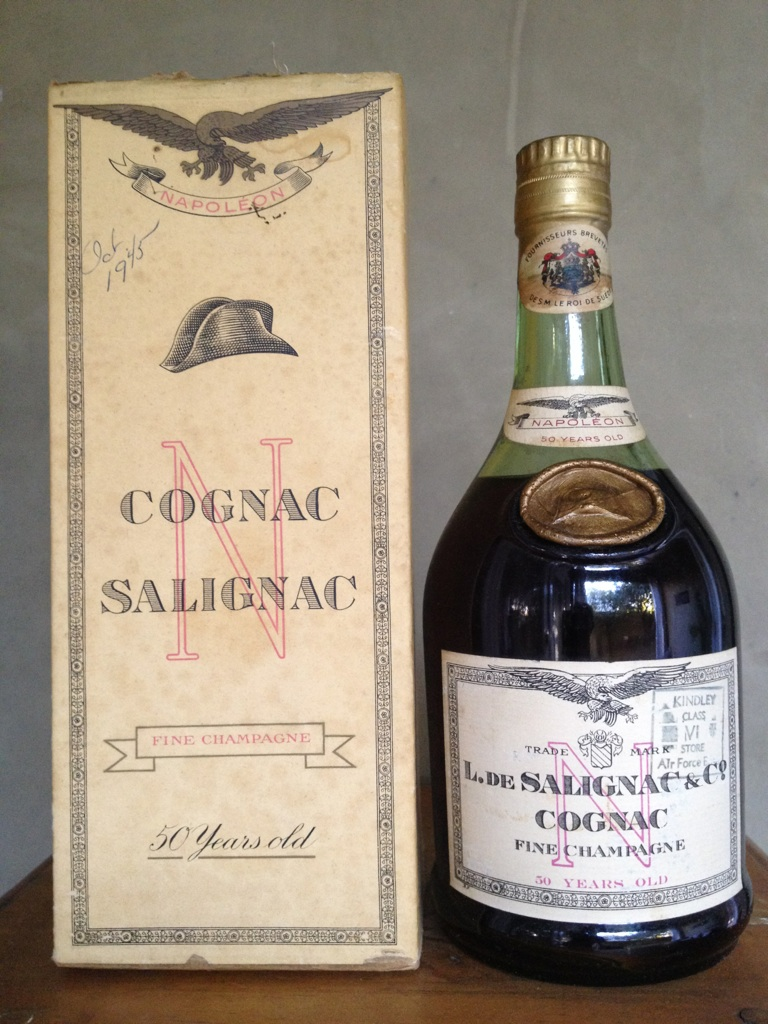 L. de Salignac & Co. Fine Champagne 50 Years Old Napoleon