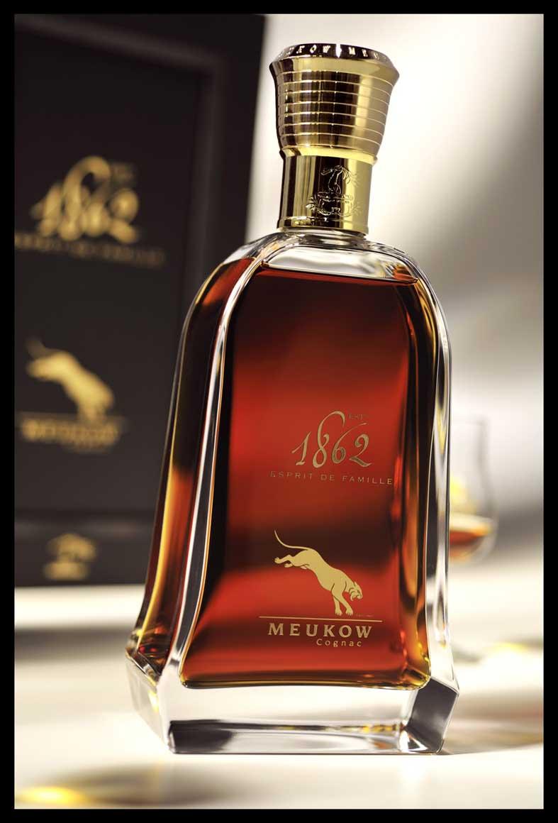 Meukow Cognac and 'Design Spirit' – The art of glass…