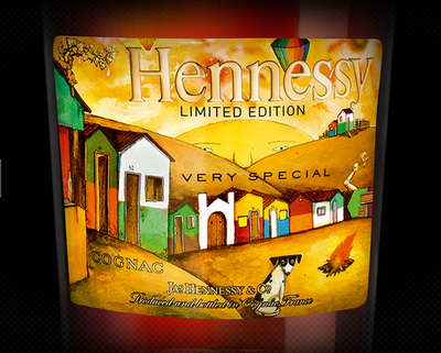 Hennessy Os Gemeos Limited Edition: VS Cognac Brazilian Street Art