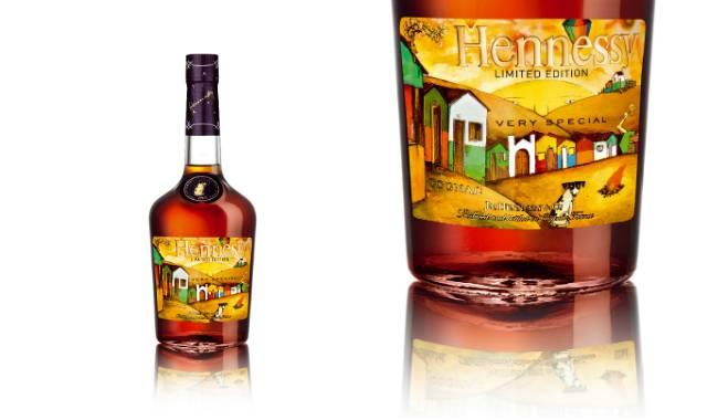 Hennessy Os Gemeos Limited Edition: VS Cognac Brazilian Street Art