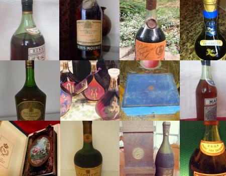 Courvoisier Chateau Limoges Extra Cognac