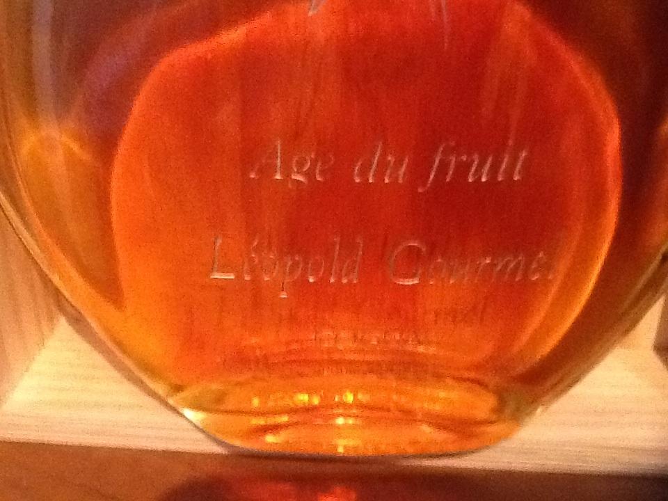 Label Leopold Gourmel Age du fruit