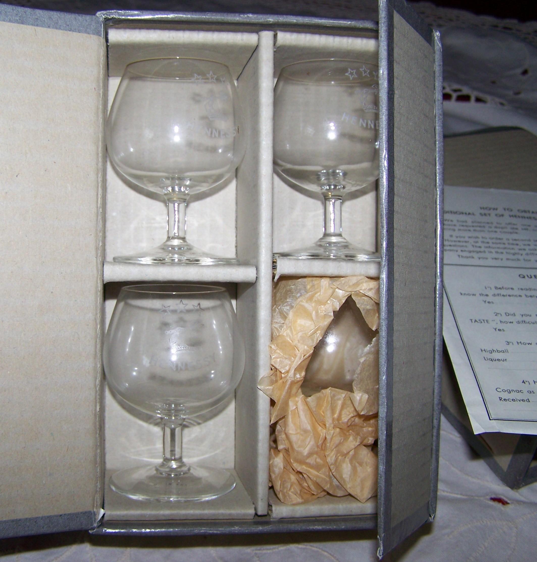 Hennessy Balloon Glasses