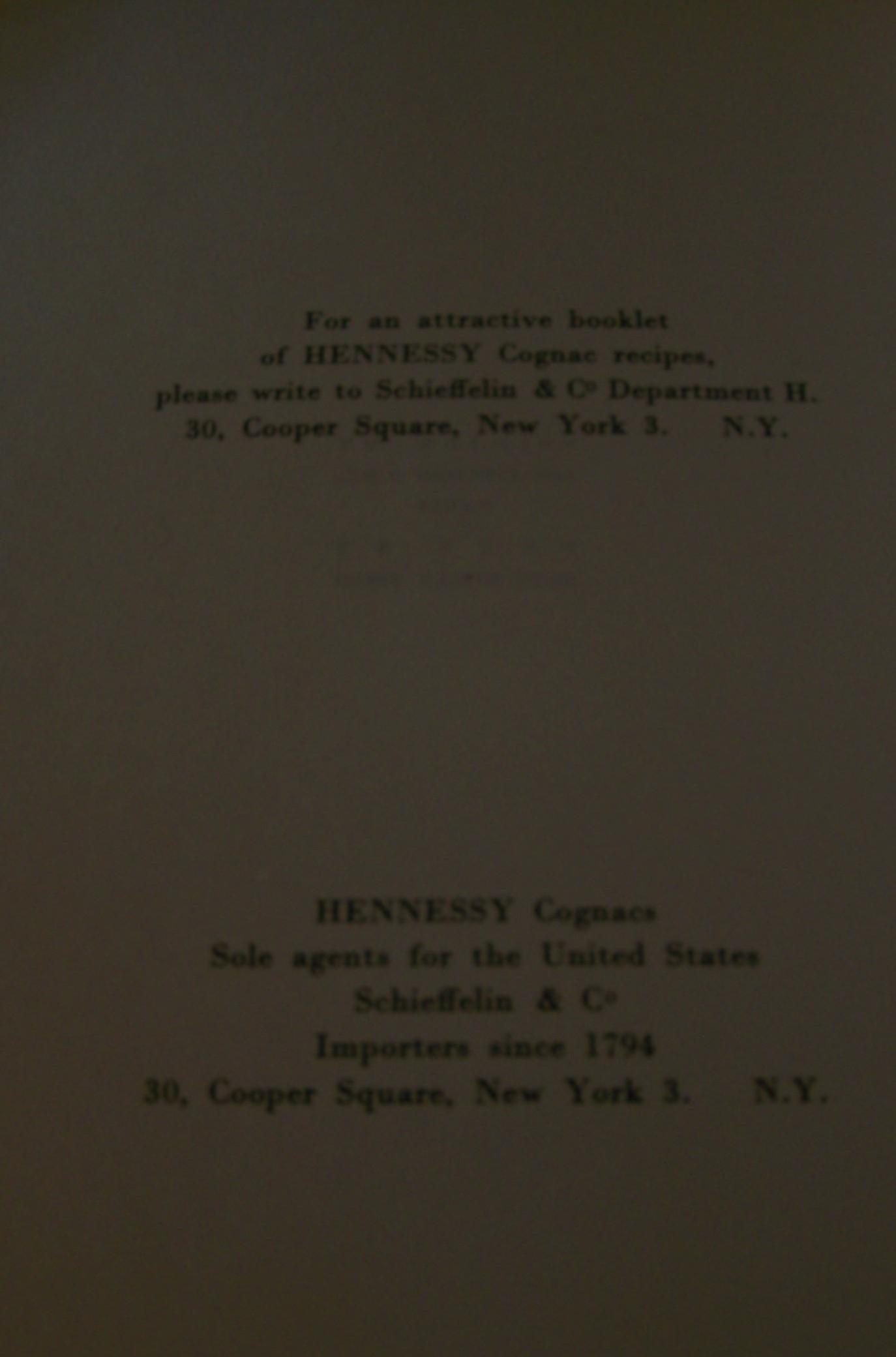 Hennessy Glassware