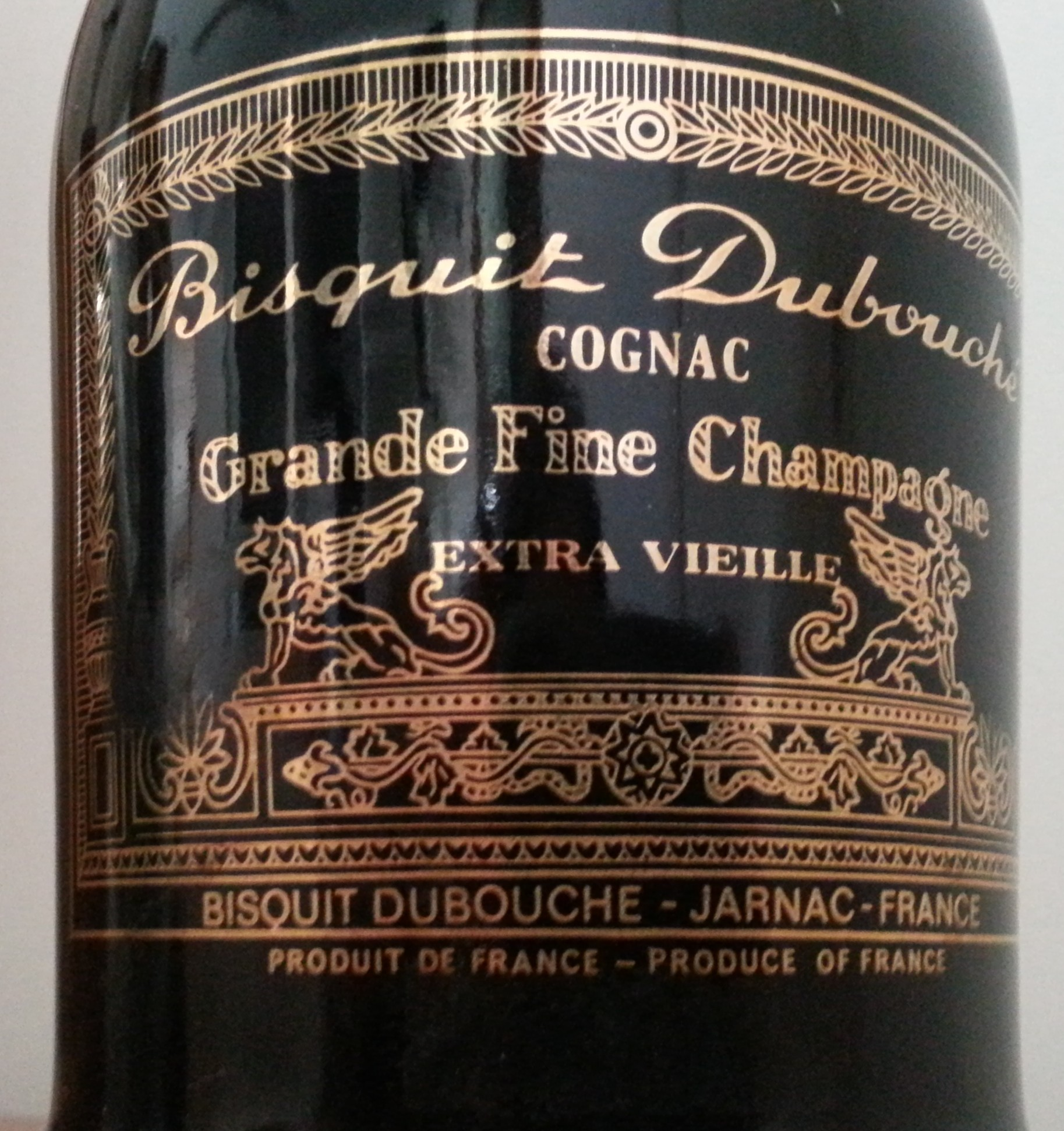 Bisquit Grande Fine Champagne Cognac Extra Vieille