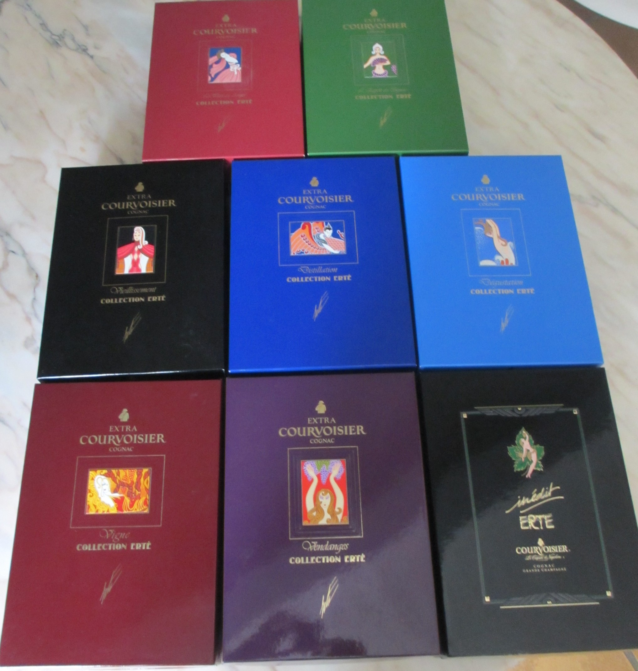 Courvoisier Complete Erte Collection