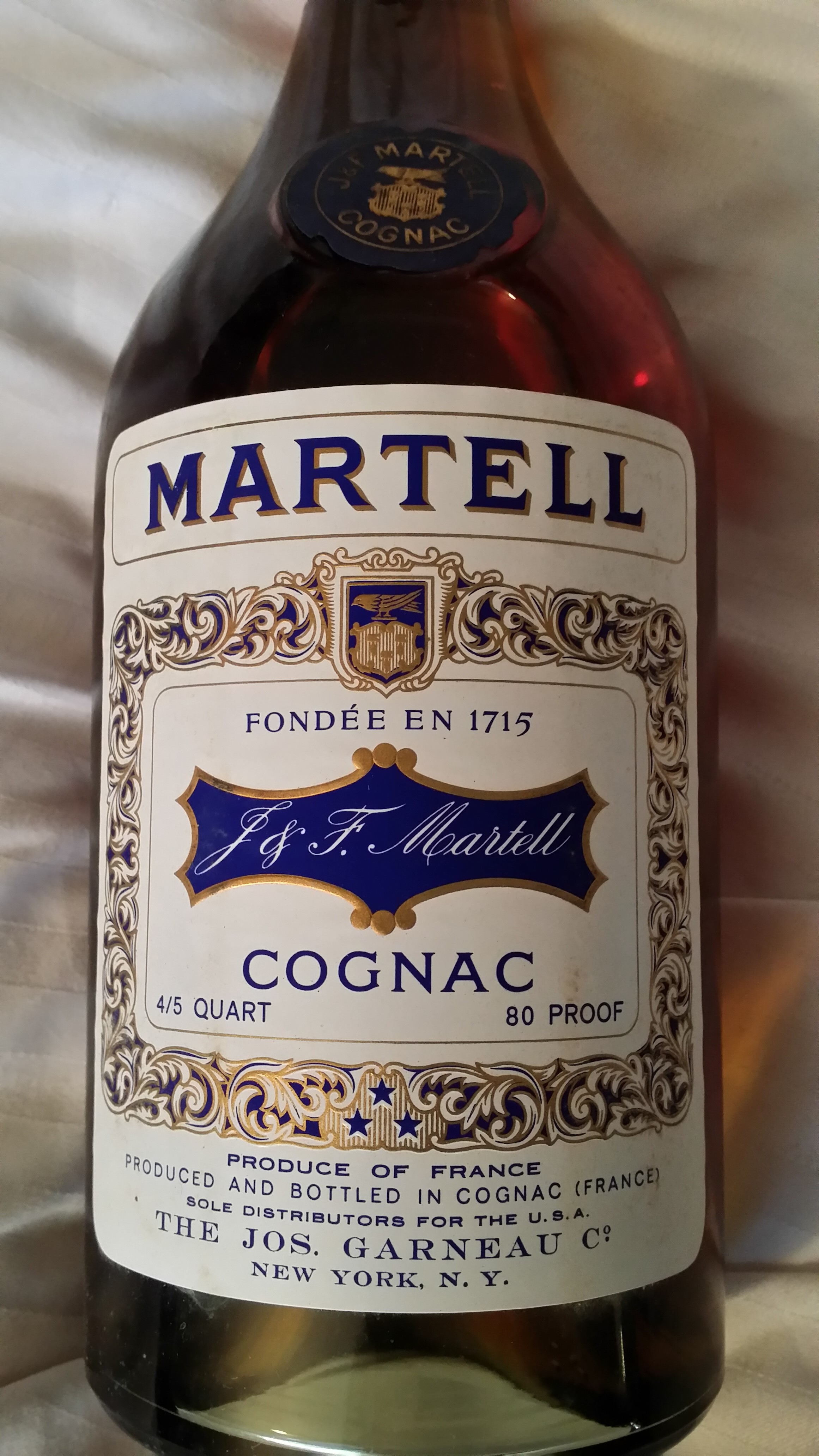 Martell Cognac Bottle