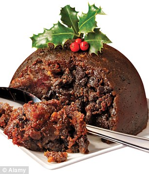 Luxurious Cognac Christmas Pudding for £23,500