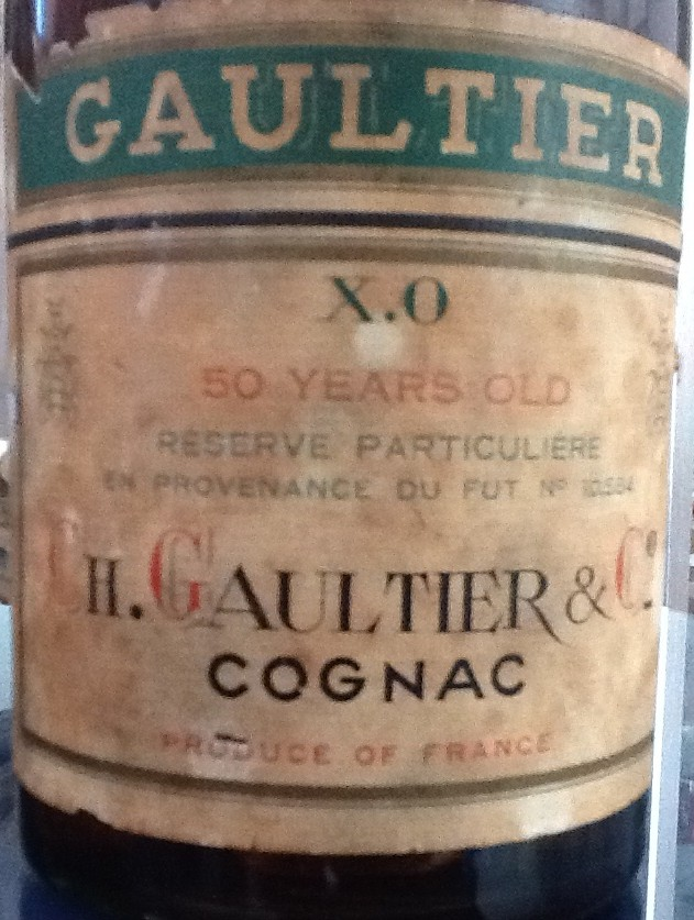 Gaultier XO Cognac