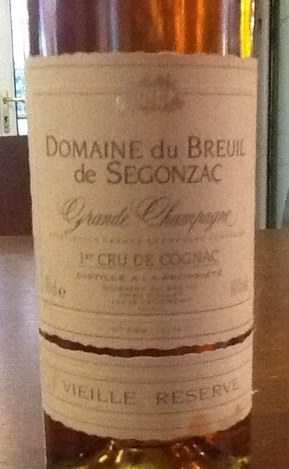 Domaine Breuil de Segonzac Grande Champagne Cognac