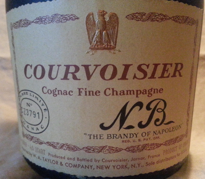 Courvoisior Fine Champagne Cognac