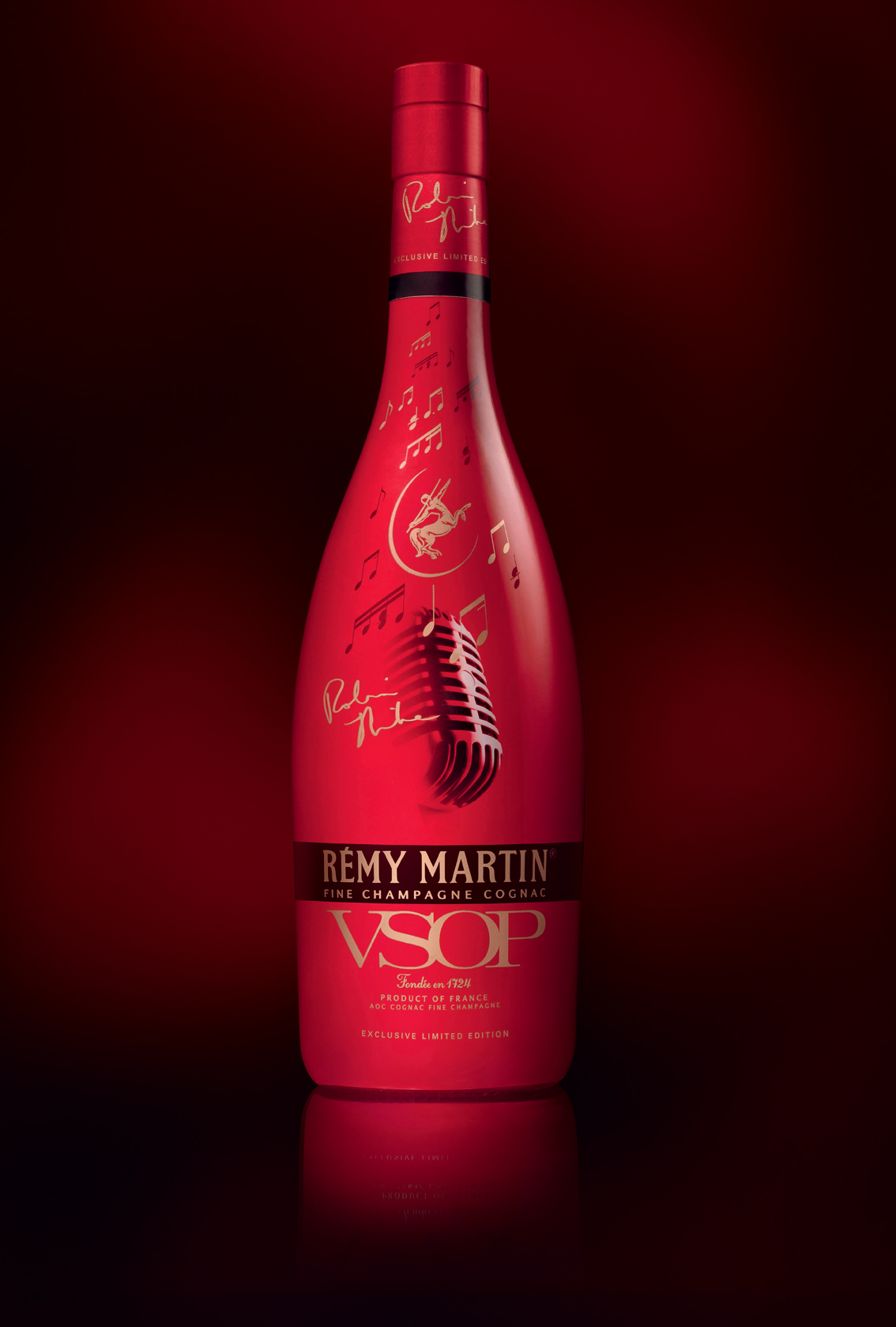 New Limited Edition Cognac: Rémy Martin VSOP Robin Thicke