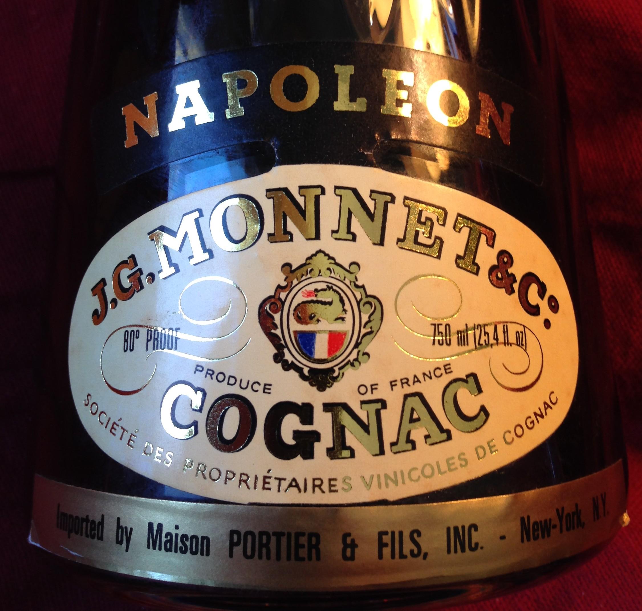Monnet Napoleon Cognac