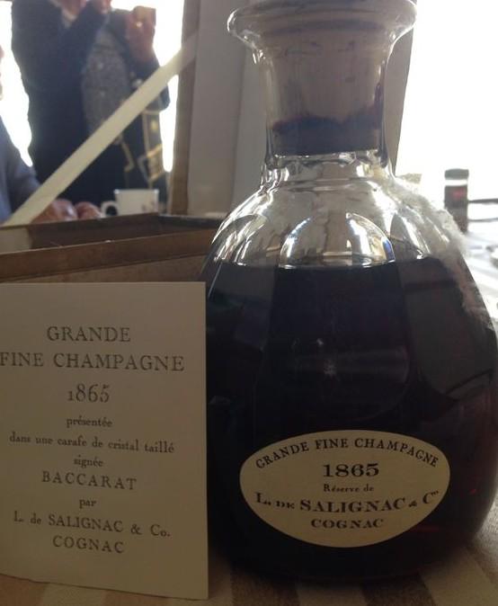 Salignac Grande Fine Champagne 1865