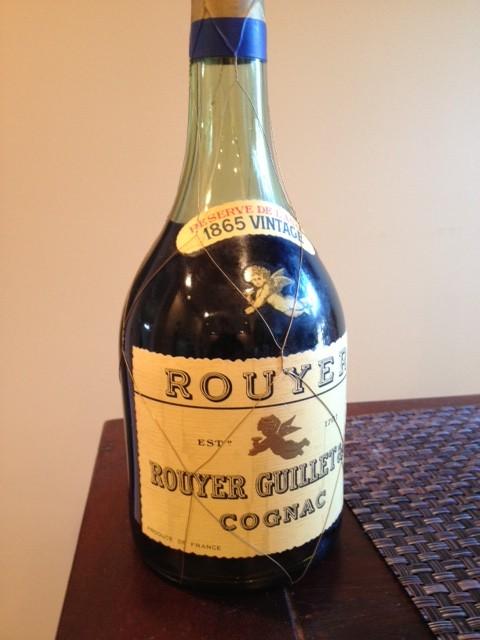 Rouyer Guillet 1865 Cognac