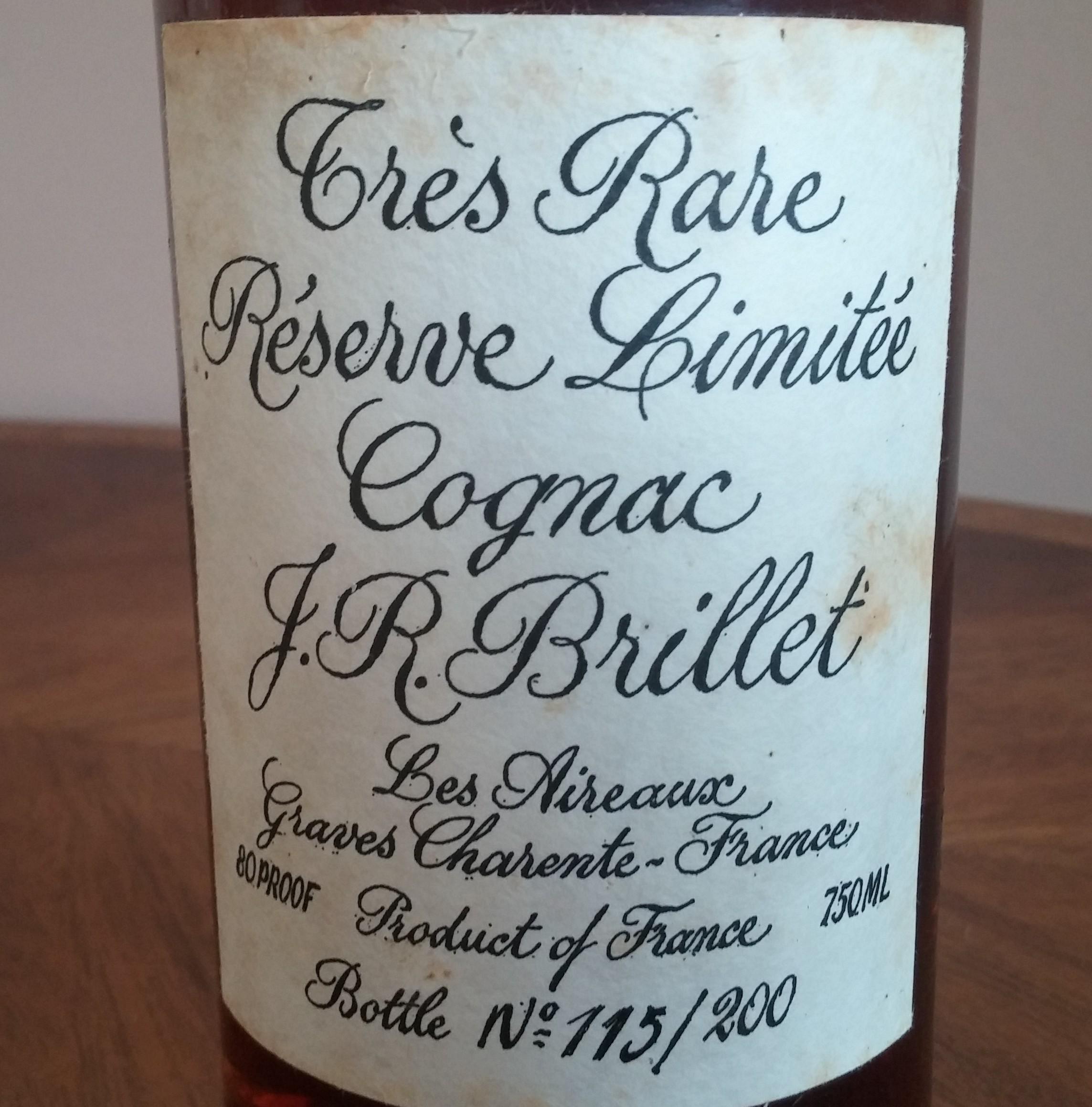 Brillet Très Rare Réserve Limitée Cognac