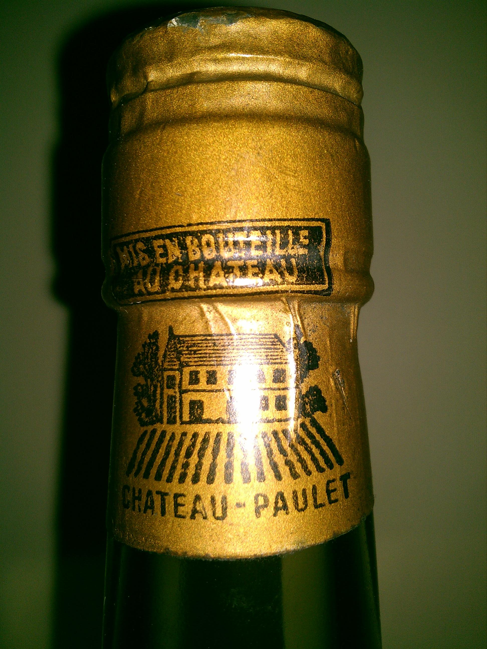 Chateau Paulet Grande Fine Champagne Napoleon Extra