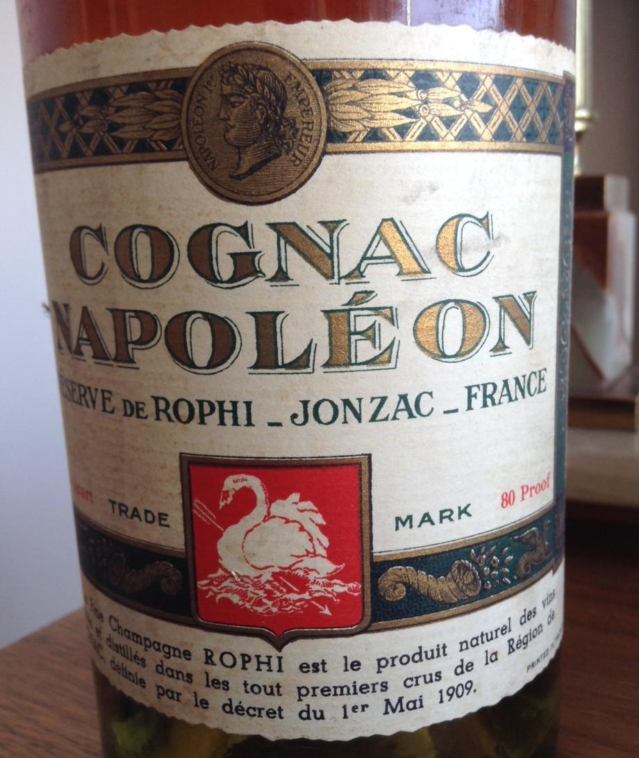 Cognac Napoléon Réserve de Rophi Jonzac