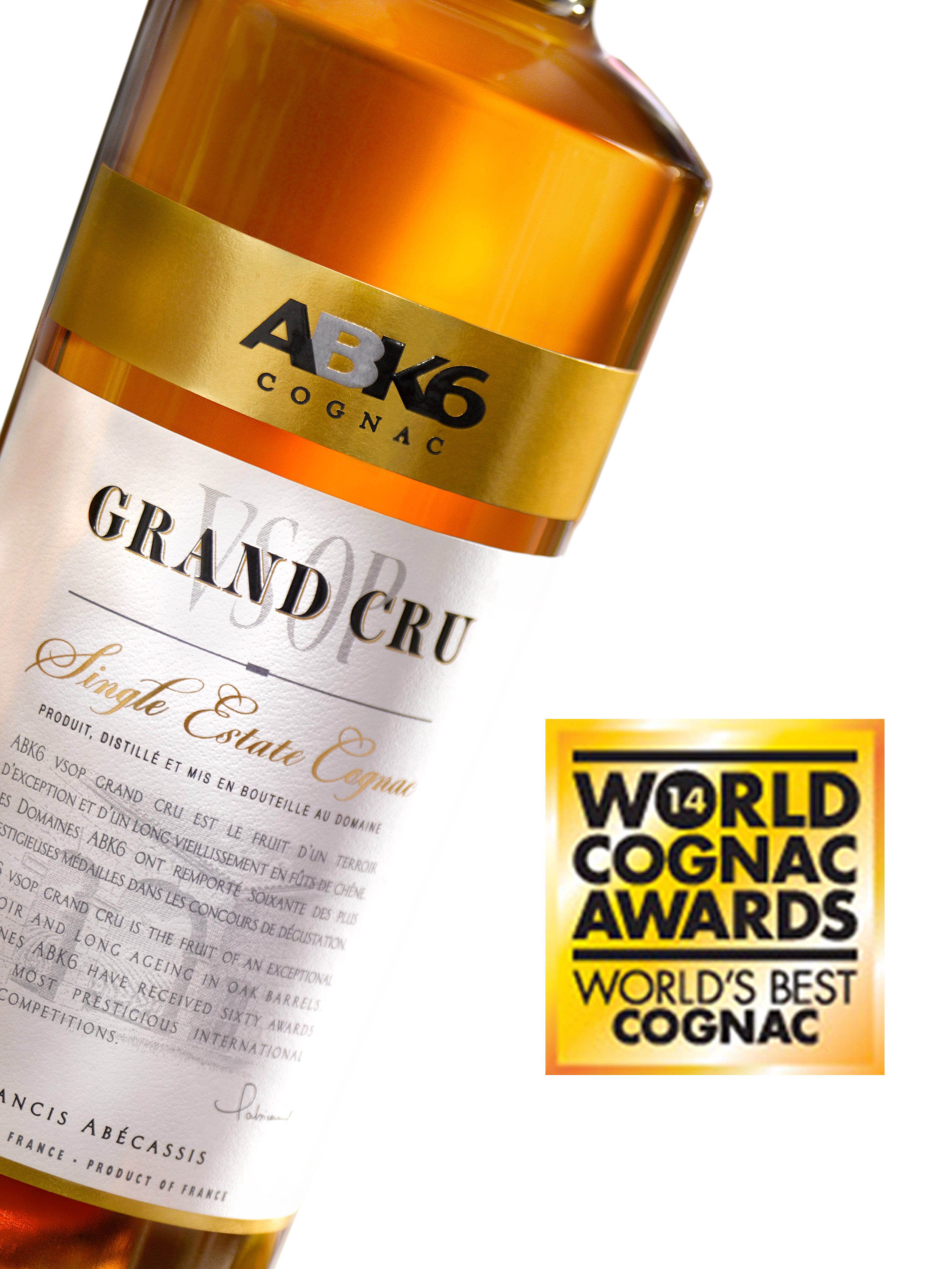 "ABK6, DEAU & Godet Cognac come up trumps in the ""World Drinks Awards"""